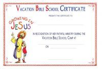 Vbs Certificate Template 6