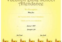 Vbs Certificate Template 7