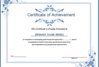 Winner Certificate Template 3