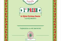 Winner Certificate Template 5
