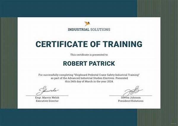 Workshop Certificate Template 8
