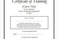 Workshop Certificate Template 9