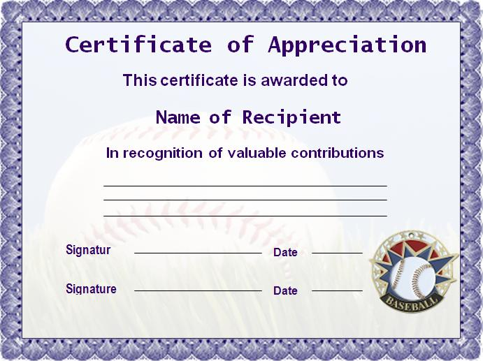 Certificate Shot