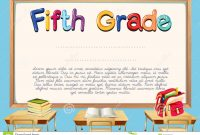 5th Grade Graduation Certificate Template 10