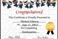 5th Grade Graduation Certificate Template 7