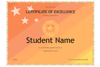 Academic Award Certificate Template 10