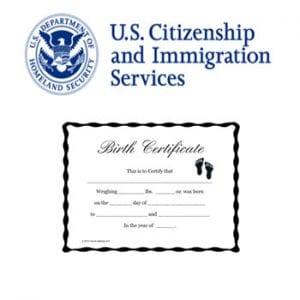 Birth Certificate Translation Template Uscis 4
