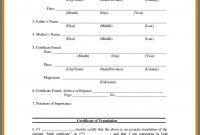 Birth Certificate Translation Template Uscis 6