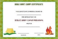 Boot Camp Certificate Template 2