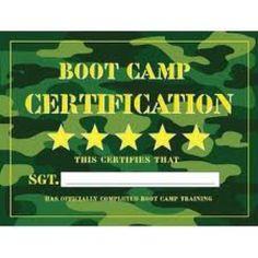 Boot Camp Certificate Template 7
