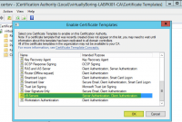 Certificate Authority Templates2