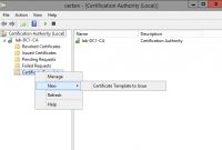 Certificate Authority Templates4