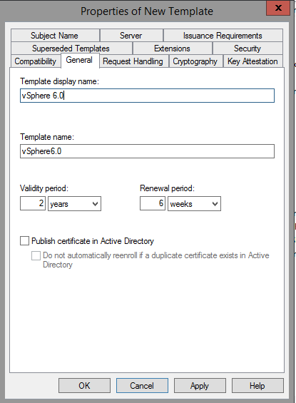 Certificate Authority Templates5