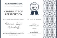 Certificate Of Appreciation Template Doc 8