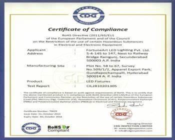 Certificate Of Compliance Template 5