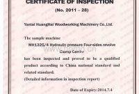 Certificate Of Inspection Template 5