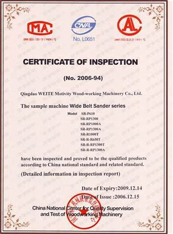 Certificate Of Inspection Template 8