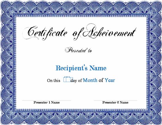 Certificate Of Insurance Template 4