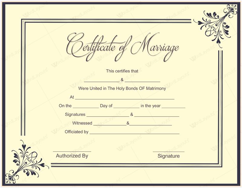 Certificate Of Insurance Template 8
