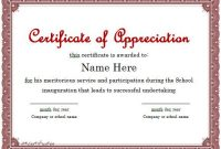 Certificate Of Participation Template Ppt 4