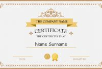 Certificate Of Participation Template Ppt 7