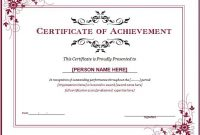 Certificate Of Recognition Word Template 3