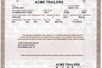 Certificate Of origin for A Vehicle Template3