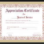 Certificate Of origin Template Word