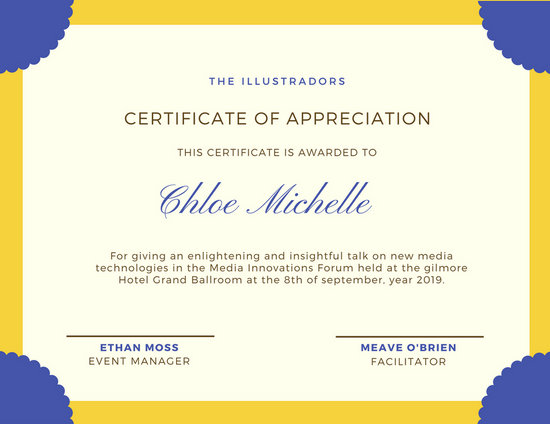 Conference Certificate Of Attendance Template 0