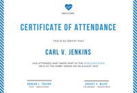 Conference Certificate Of Attendance Template 8