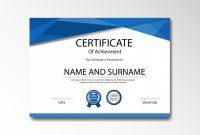 Design A Certificate Template 0
