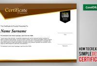 Design A Certificate Template 4