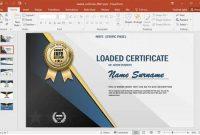 Design A Certificate Template 6
