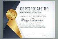 Design A Certificate Template 7