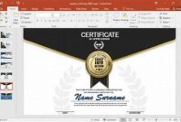Design A Certificate Template 8