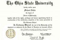 College Diploma Templates
