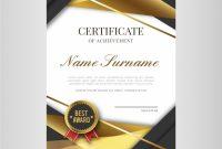 Elegant Certificate Templates Free 2