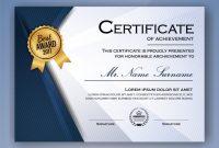 Elegant Certificate Templates Free 3