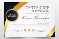 Elegant Certificate Templates Free 5