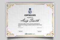 Elegant Certificate Templates Free 7