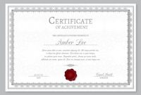 Elegant Certificate Templates Free 9