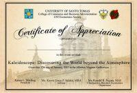 Formal Certificate Of Appreciation Template 5
