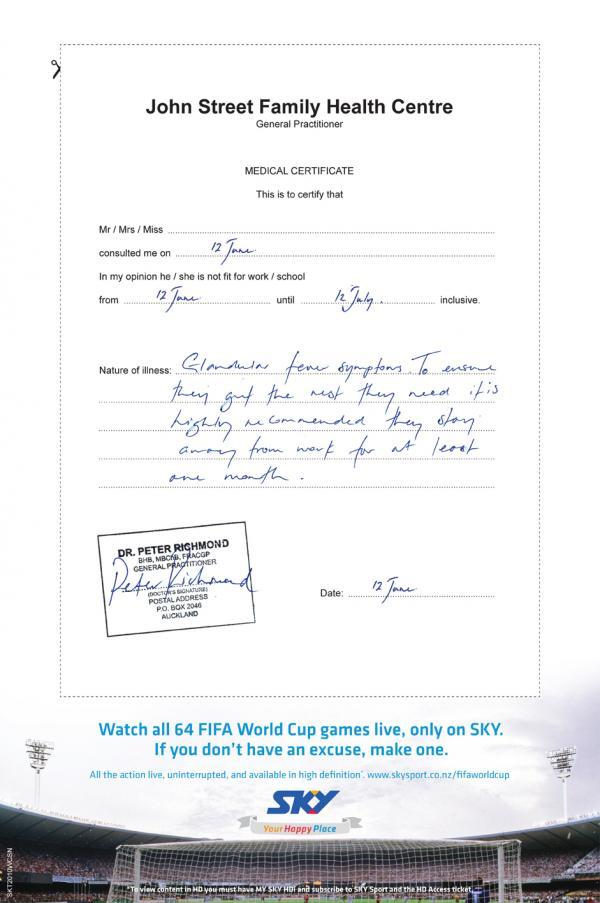 Free Fake Medical Certificate Template 12