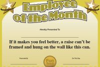 Free Funny Award Certificate Templates for Word 3