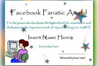 Free Funny Award Certificate Templates for Word 4