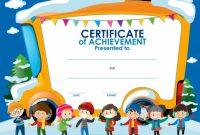 Free Kids Certificate Templates 3