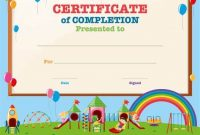 Free Kids Certificate Templates 6