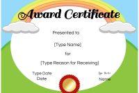 Free Kids Certificate Templates 7