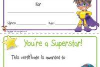 Free Kids Certificate Templates 9