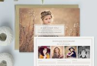 Free Photography Gift Certificate Template 4
